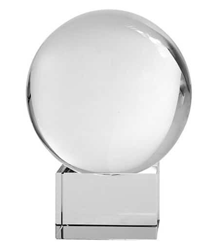 Crystal Meditation Ball Globe