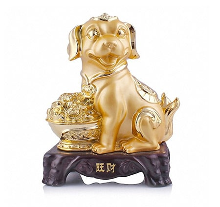 lucky dog statue 2018 - feng shui activator for wealth