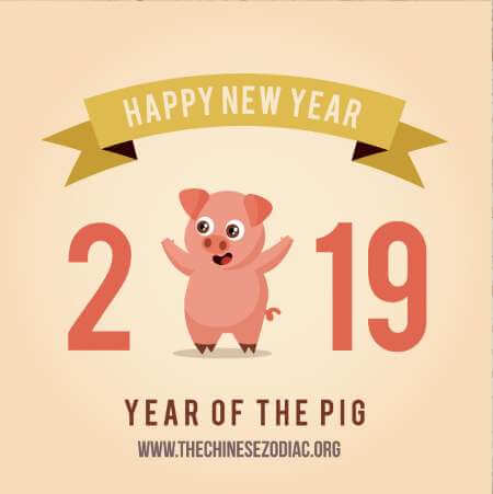 Chinese New Year 2019 - Year of the Earth Pig